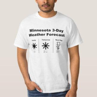 Minnesota Weather Forecast Tee Shirt