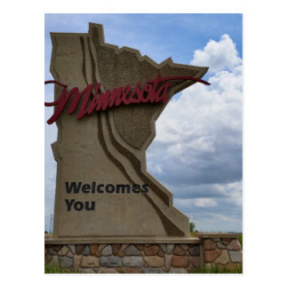 Minnesota Welcomes You Postcard