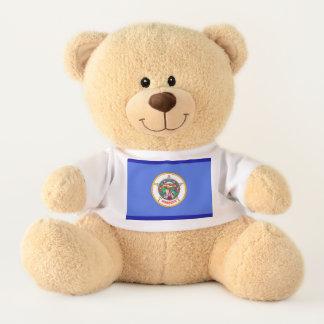 Minnessota State Flag Teddy Bear