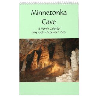 Minnetonka Cave 18 Month Calendar