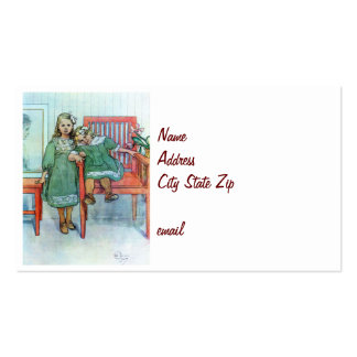 Minni un Essi Sisters Together Business Card