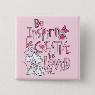 Minnie | Be Inspiring 2 Inch Square Button