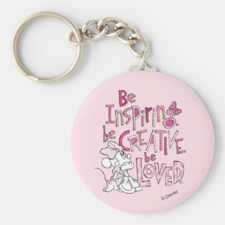 Minnie | Be Inspiring Basic Round Button Keychain