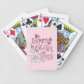 Minnie | Be Inspiring Bicycle Playing Cards
