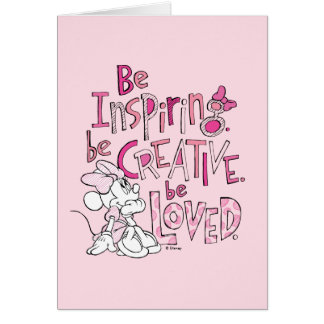 Minnie | Be Inspiring Card