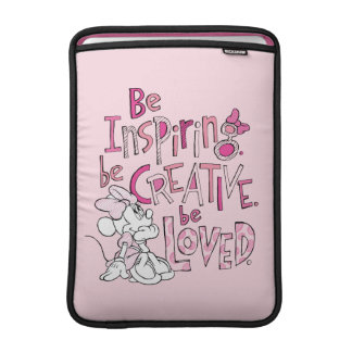 Minnie | Be Inspiring MacBook Sleeves