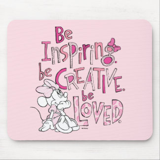Minnie | Be Inspiring Mouse Pad