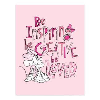 Minnie | Be Inspiring Postcard
