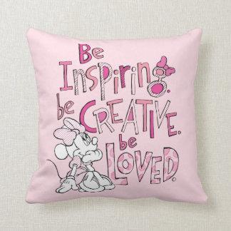 Minnie | Be Inspiring Throw Pillow