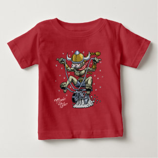 Minnie Biker Baby T-Shirt