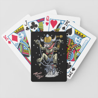 Minnie Biker Bicycle Playing Cards