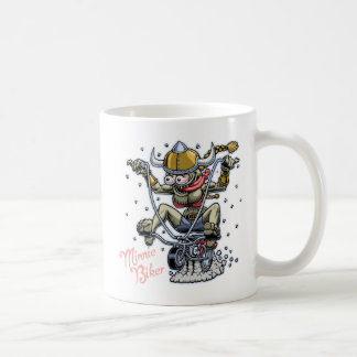 Minnie Biker Coffee Mug