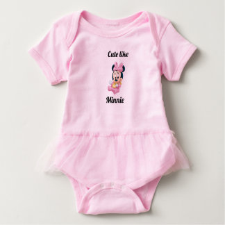 Minnie body suit baby bodysuit