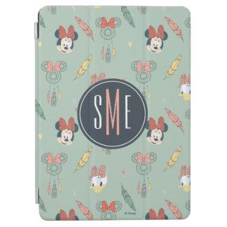 Minnie & Daisy Monogram | Dream Catcher Pattern iPad Air Cover