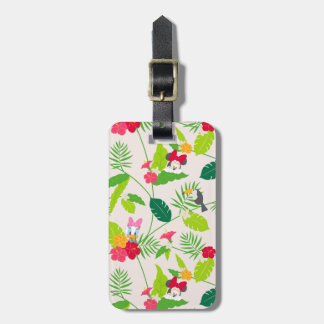 Minnie & Daisy | Tropical Pattern Bag Tag