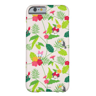 Minnie & Daisy | Tropical Pattern Barely There iPhone 6 Case