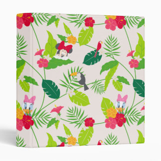 Minnie & Daisy | Tropical Pattern Binders