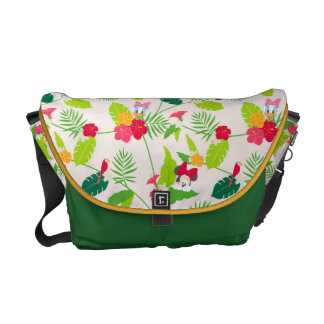 Minnie & Daisy | Tropical Pattern Courier Bag
