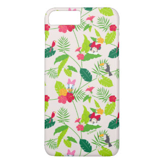 Minnie & Daisy | Tropical Pattern iPhone 8 Plus/7 Plus Case