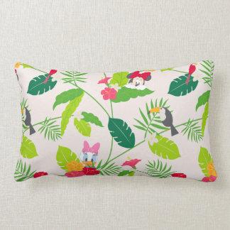 Minnie & Daisy | Tropical Pattern Lumbar Pillow