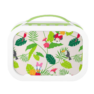 Minnie & Daisy | Tropical Pattern Lunchbox