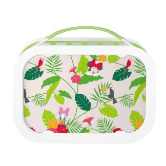 Minnie & Daisy | Tropical Pattern Lunchboxes