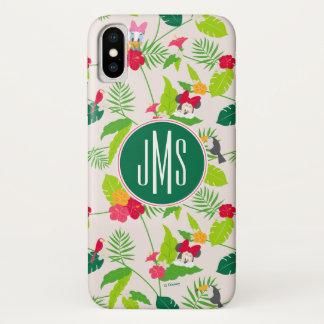 Minnie & Daisy | Tropical Pattern Monogram Case-Mate iPhone Case