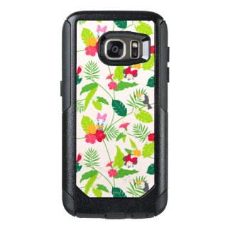 Minnie & Daisy | Tropical Pattern OtterBox Samsung Galaxy S7 Case