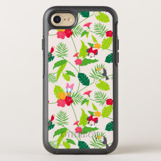 Minnie & Daisy | Tropical Pattern OtterBox Symmetry iPhone 7 Case