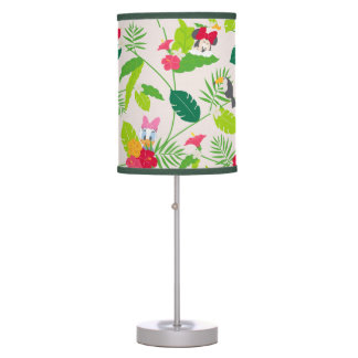 Minnie & Daisy | Tropical Pattern Table Lamps