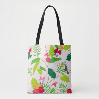 Minnie & Daisy | Tropical Pattern Tote Bag