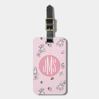 Minnie | Elegant Pose Watercolor Luggage Tag