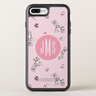 Minnie   Elegant Pose Watercolor OtterBox Symmetry iPhone 7 Plus Case