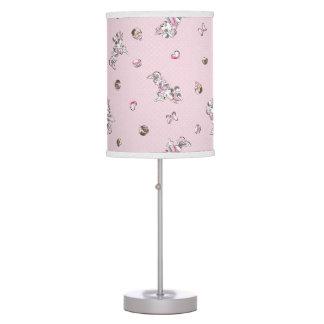 Minnie | Elegant Pose Watercolor Table Lamp