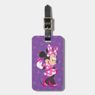 Minnie | I Believe in Me Luggage Tag