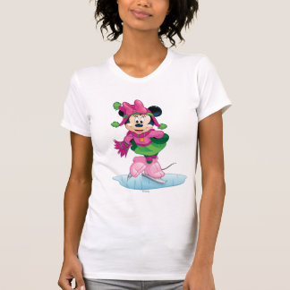 Minnie Ice Skating T-Shirt