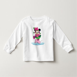 Minnie Ice Skating Toddler T-shirt
