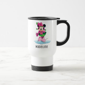 Minnie Ice Skating Travel Mug