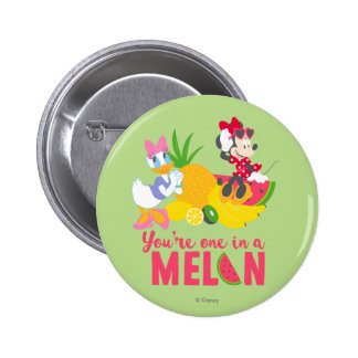 Minnie | Minnie Says Your'e One In A Melon 2 Inch Round Button