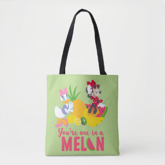 Minnie | Minnie Says Your'e One In A Melon Tote Bag