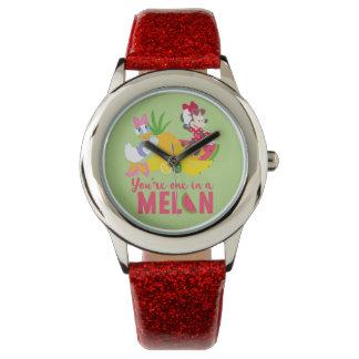 Minnie   Minnie Says Your'e One In A Melon Wrist Watch