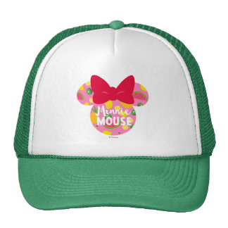 Minnie | Minnie Tropical Logo 2 Trucker Hat