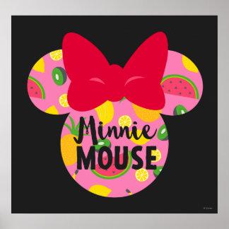 Minnie | Minnie Tropical Logo 4 Poster