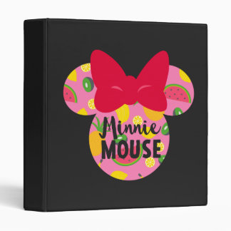 Minnie | Minnie Tropical Logo Binder
