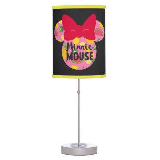 Minnie | Minnie Tropical Logo Desk Lamps