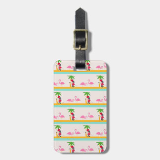 Minnie | Minnie's Tropical Pattern Bag Tag