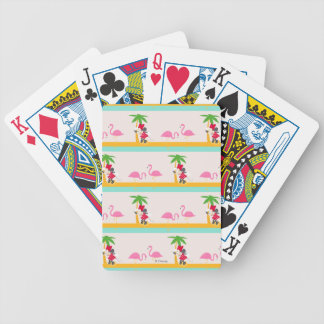 Minnie | Minnie's Tropical Pattern Bicycle Playing Cards