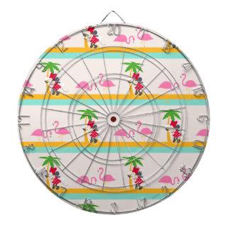 Minnie   Minnie's Tropical Pattern Dartboards