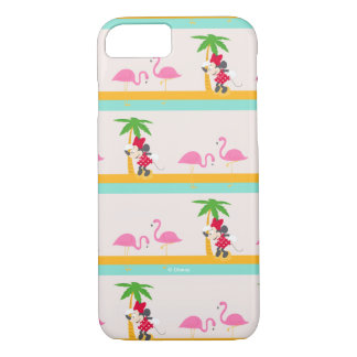Minnie | Minnie's Tropical Pattern iPhone 8/7 Case