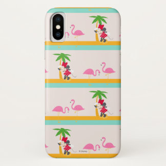 Minnie | Minnie's Tropical Pattern iPhone X Case
